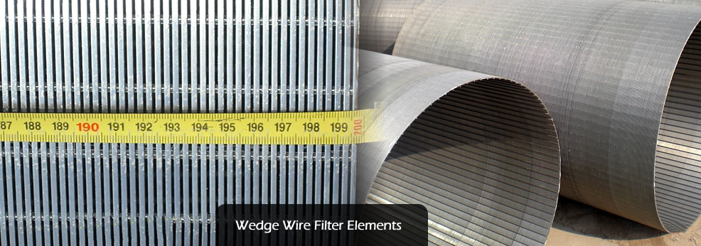 Wedge Wire Filter Elements