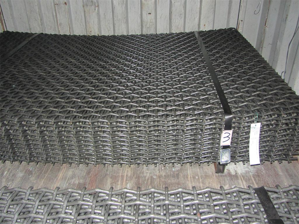 Manganese Steel Crimped Wire Mesh
